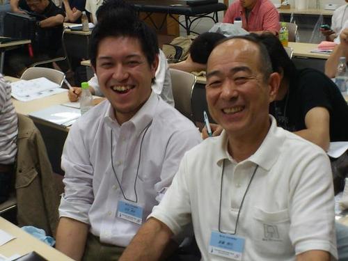 会田先生とPCRTセミナーにて