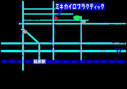 ミキカイロの地図